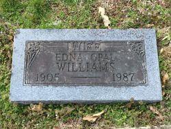 Edna Opal <I>James</I> Williams