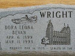 Dora Leona <I>Bevan</I> Wright