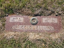 Willie B <I>Cook</I> Coldwell