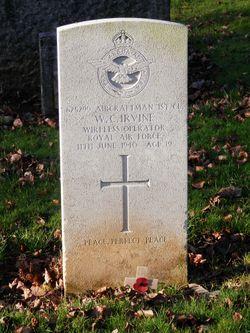 Aircraftman 1st Class William Charles Irvine