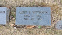 Albin Egon Wittmann
