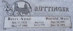 Harold Muir Ruttinger