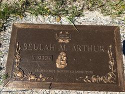 Beulah Beatrice <I>McFayden</I> Arthur