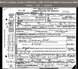 Walter Densmore Allen Sr.