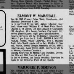Elmont William Marshall
