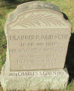 Francis C Danforth