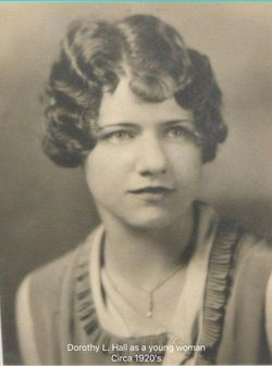 Dorothy Louise <I>Hall</I> Goodbody