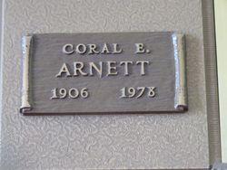 Coral Edward Arnett