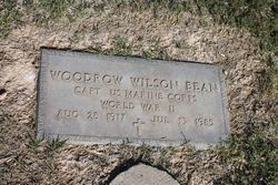 Woodrow Wilson Bean, Sr