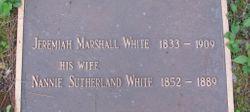 Nannie <I>Sutherland</I> White