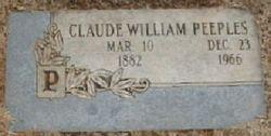 Claude William Peeples