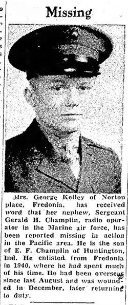Sgt Gerald Hubert Champlin
