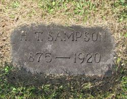 Harry T Sampson (1875-1920) - Find A Grave Memorial