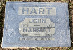 "Harriet Cotsford ""Hattie"" <I>Mackay</I> Hart"