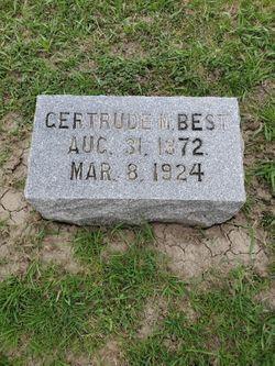 Gertrude Mary <I>McBeath</I> Best