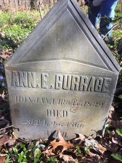 Anne E. Burrage