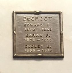 Dudley Sargent DeGroot