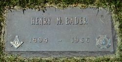 Henry Marseilles Bader