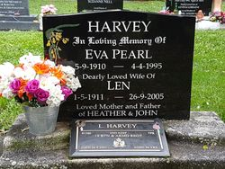 Eva Pearl <I>Lineham</I> Harvey