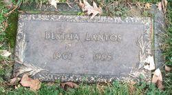 Bertha <I>Wigner</I> Lantos