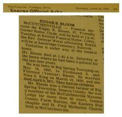 Edgar B J Bloom