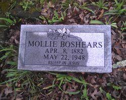 """Mary """"Mollie"""" <I>Milligan</I> Boshears"""