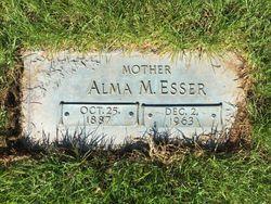 Alma Wilhelmina Martha <I>Vitense</I> Esser
