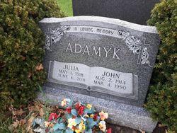 Julia <I>Lazarovich</I> Adamyk