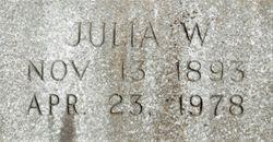 Julia <I>White</I> Addington