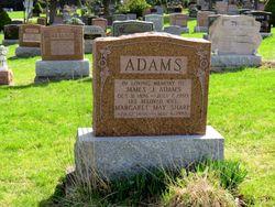 Margaret May <I>Sharp</I> Adams