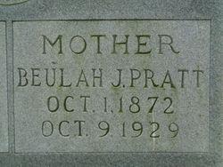 Beulah <I>Jones</I> Pratt