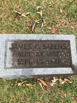 James C  Sabens (1856-1939) - Find A Grave Memorial