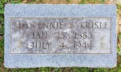 Mrs Jennie B Krisle