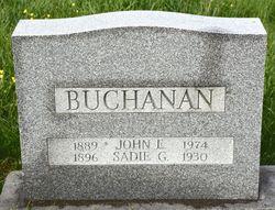 Sadie Gertrude <I>Taylor</I> Buchanan