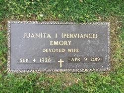 "Juanita Irene ""Nita"" <I>Perviance</I> Emory"
