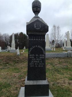 Jennie S. <I>Scobie</I> Richmond