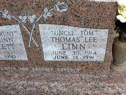 "Thomas Lee ""Uncle Tom"" Linn"