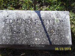 """Edmund F """"Ted"""" Utton"""