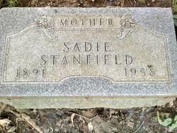 Sadie <I>Dennis</I> Stanfield