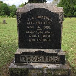 Mary Emily <I>Mitchell</I> Brasher