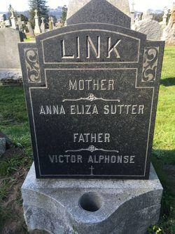 Anna Eliza <I>Sutter</I> Link
