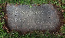 Harry Holbrook Fearman