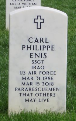 SSGT Carl Phillippe Enis