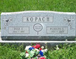 Rose E <I>Zagar</I> Kopach