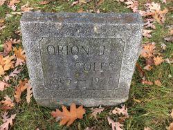 Orion J Coles