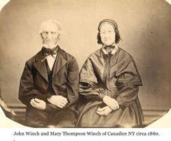 Mary <I>Thompson</I> Winch