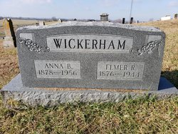 Anna Bell <I>Scaff</I> Wickerham