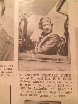 "Andrew Kendall ""Andy"" Duke"