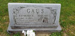 """Raymond K. """"Bud"""" Gaus"""