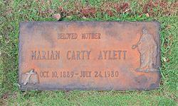"""Marian """"Mamie"""" <I>Carty</I> Aylett"""